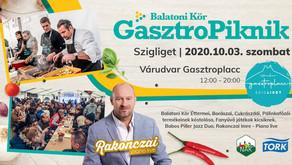 Újra indul a Balatoni Kör Gasztropiknik sorozata!