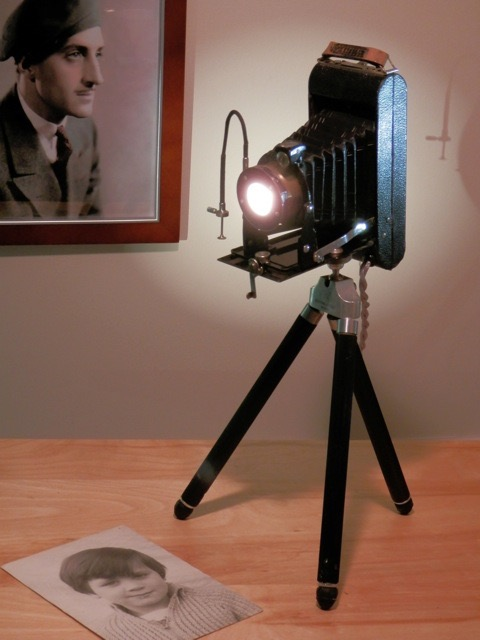 Antique Camera Light