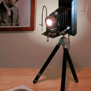 Antique Camera Lamp