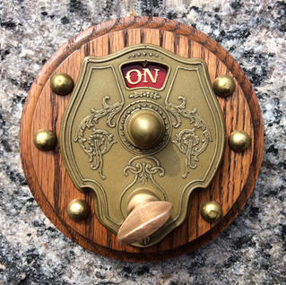 Steampunk Electrical Switch