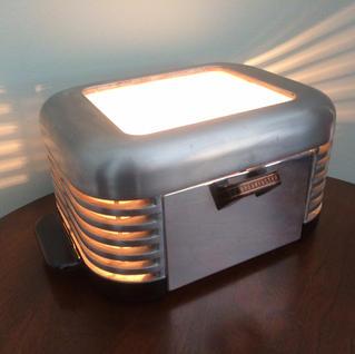 1930's Breakfaster Toaster Lamp