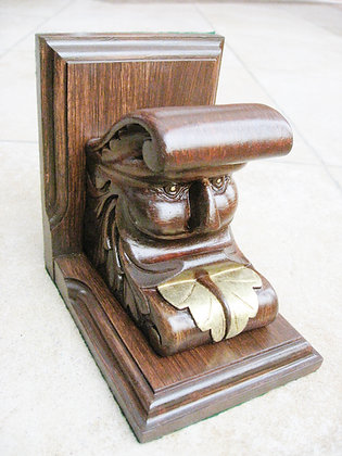 Time Machine Victorian Bookend