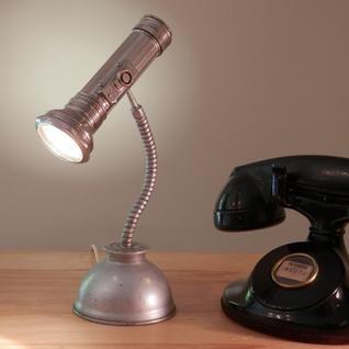 Vintage Flash Light Oil Can Lamp (petite)
