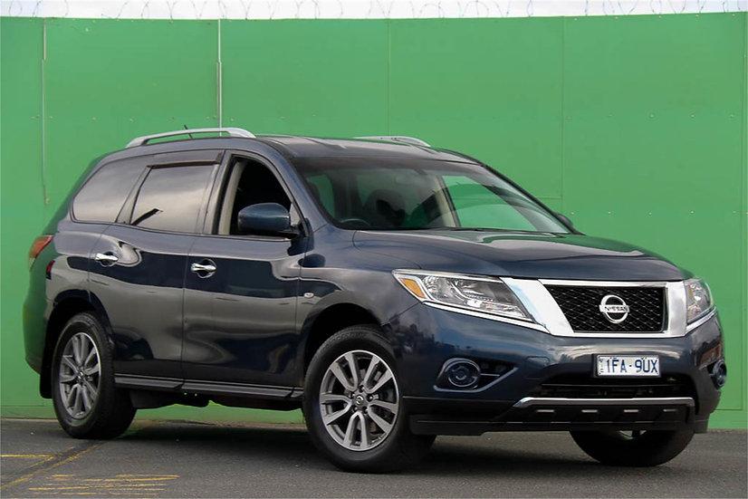 Nissan Pathfinder 2015 R52 MY15 ST Wagon 7st 5dr X-tronic 1sp 2WD 3.5i