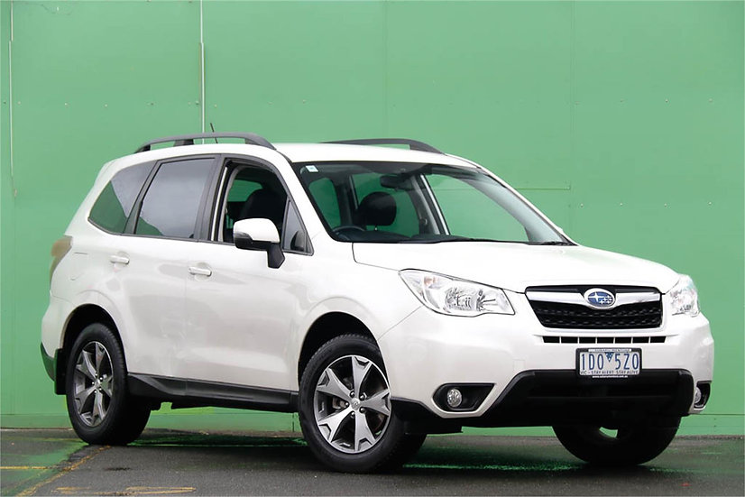 Subaru Forester 2014 S4 MY14 2.5i Luxury Wagon 5dr Lineartronic 6sp AWD