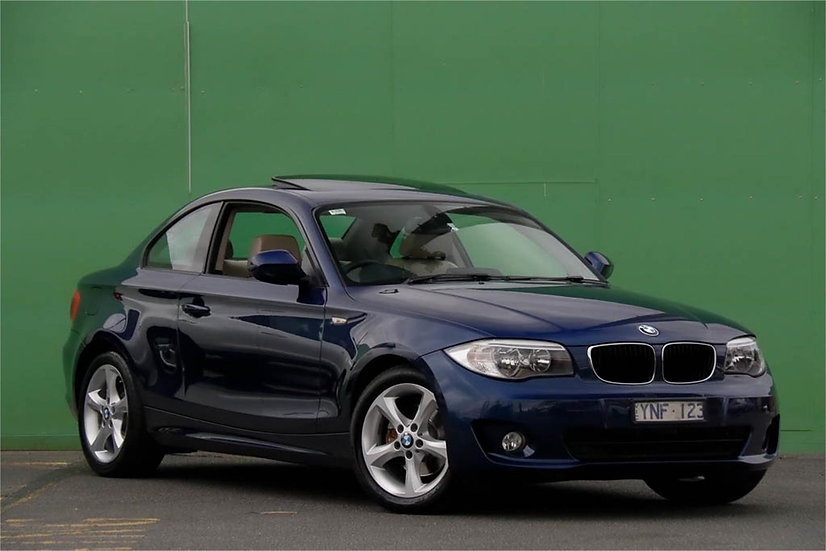 BMW 1 Series 2011 E82 LCI MY11 120i Coupe 2dr Steptronic 6sp 2.0i