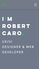 Portfolio website templates – UX/UI Designer Resume