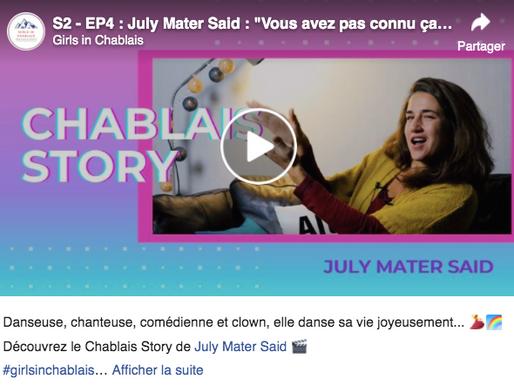 July notre professeure de chant interviewée par Girls In Chablais !!
