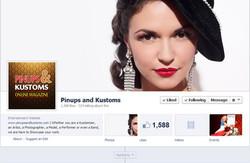 On Pinups & Kustoms Facebook