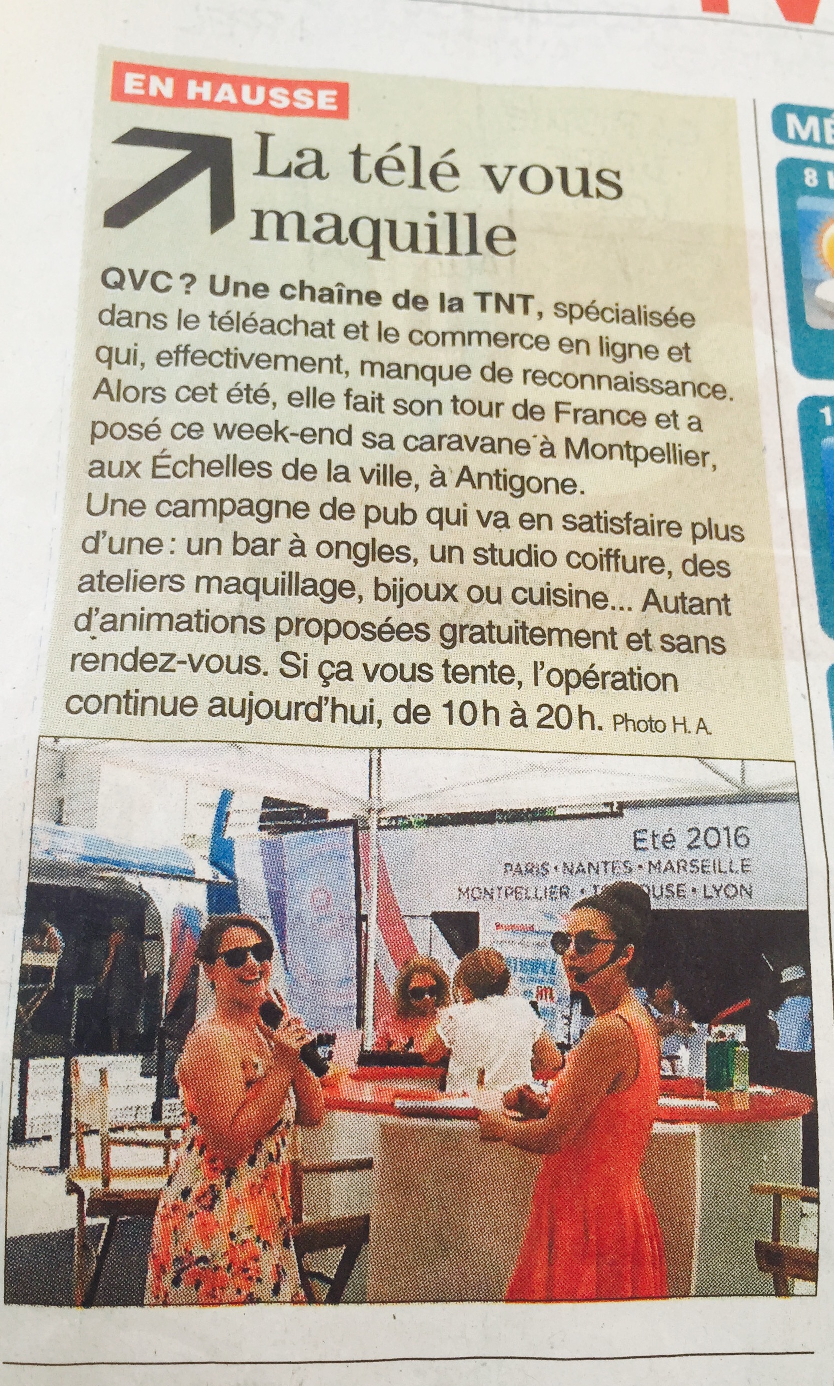 Midi Libre - Montpellier JULY 2016