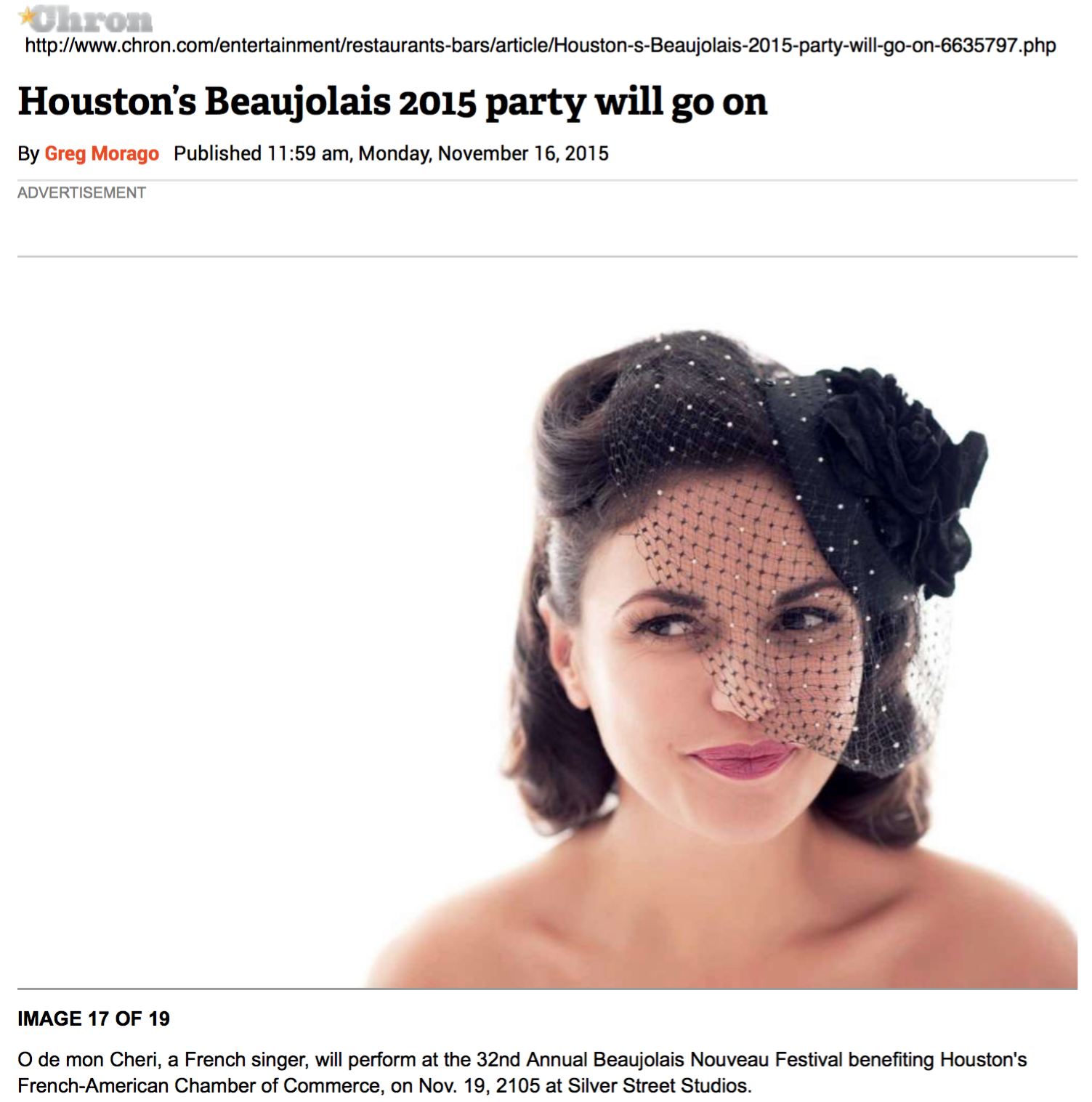 Houston Chronicle - nov 15