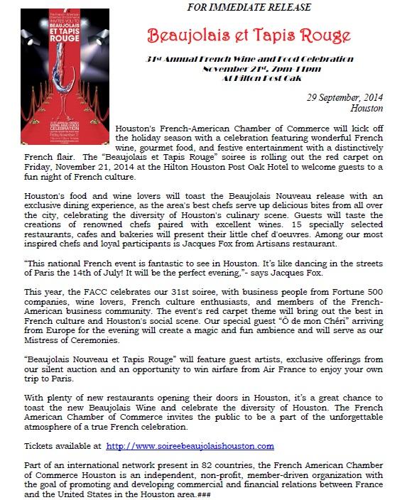 FACC Press release - Setp'14