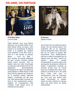 Newsletter Les Disquaires de Paris