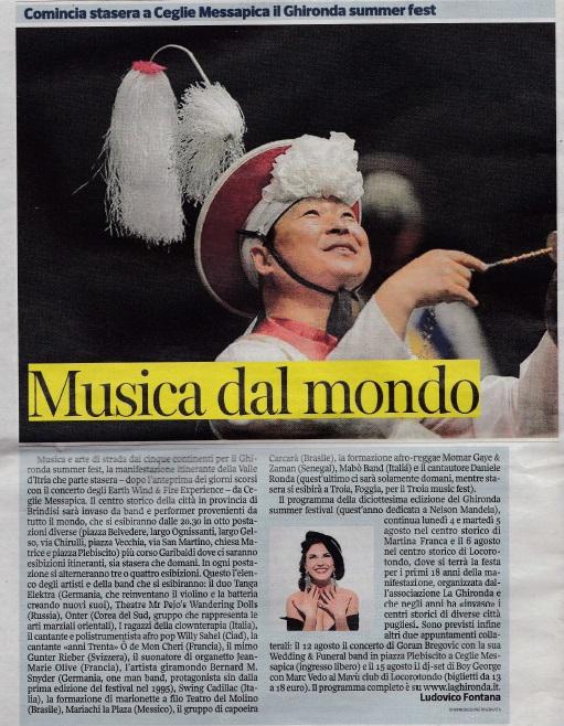 Corriere della Sera - 08/2014