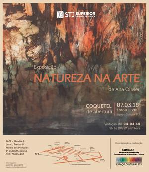 Inspiração natural na nova exposição do Espaço Cultural-STJ