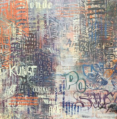 O Graffiti 50X50 cm