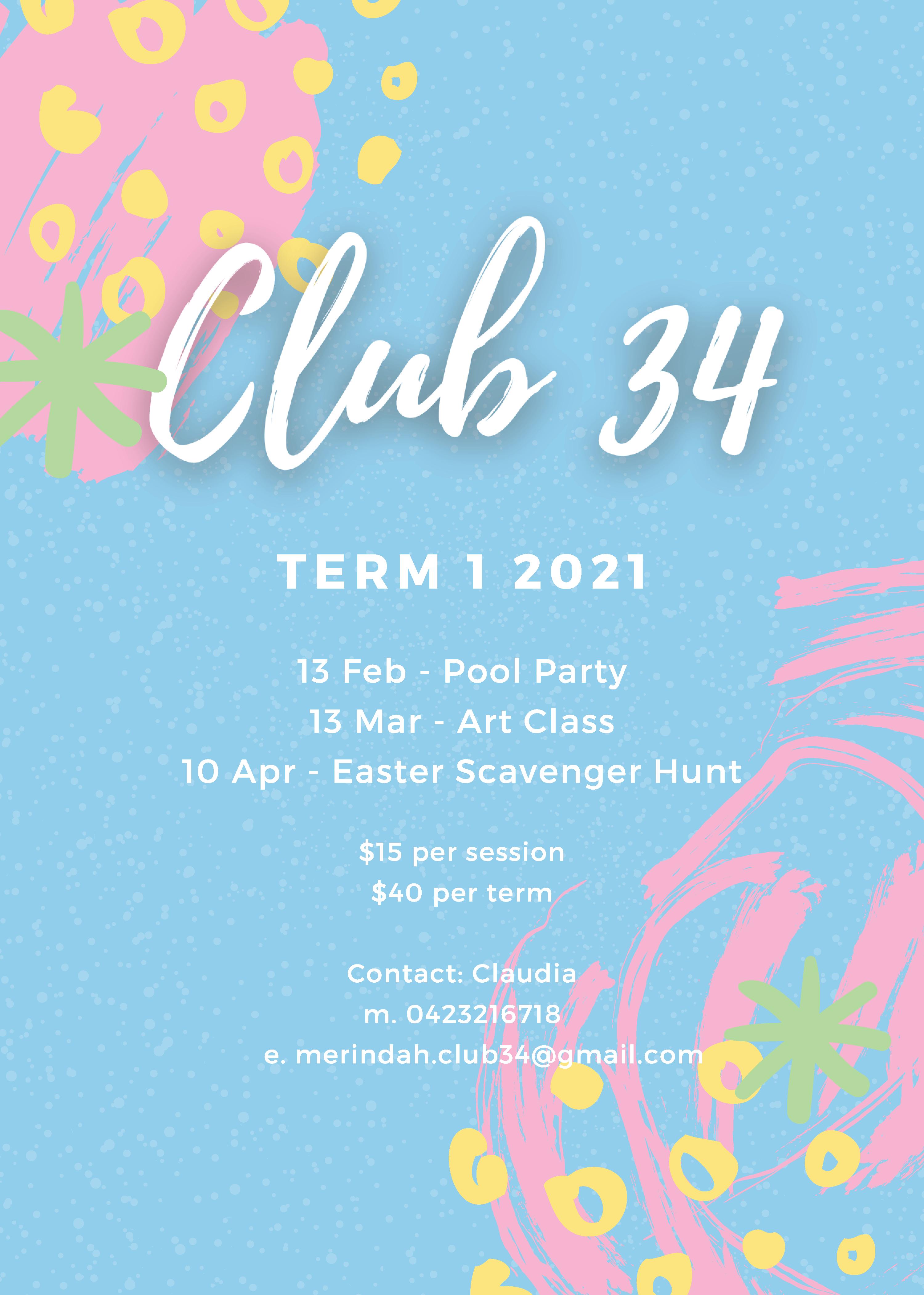 Club34 - Term1 2021