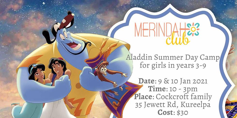 Aladdin Camp - Sunshine Coast Edition