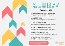 Club 77_Term3_2021