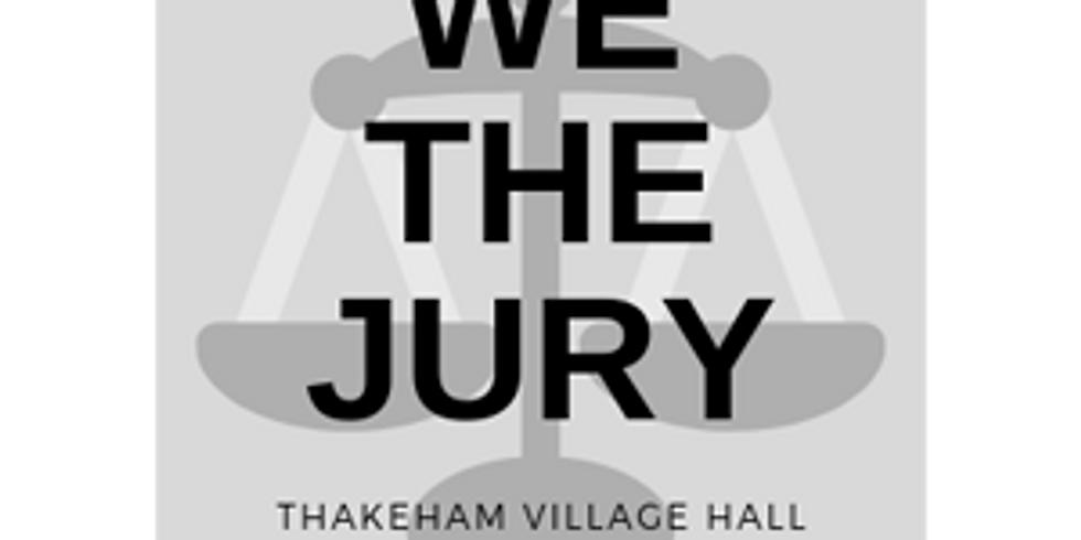 "Community Social Evening - ""We The Jury"" Interactive Talk"