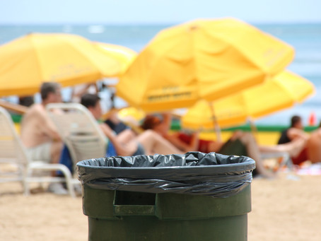 Sussex Green Living Recycling Bin is on Holiday Next Week