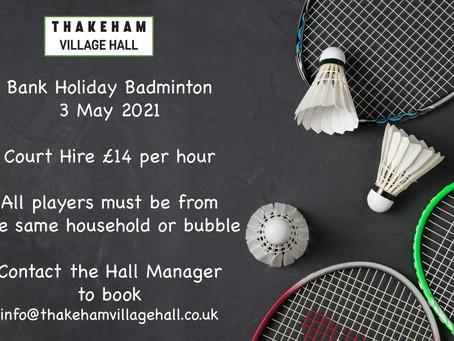 Bank Holiday Badminton
