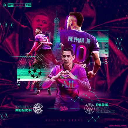 Bayern - PSG 1/4 LDC