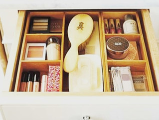 Organizing Tip of the Week - Decluttering Makeup