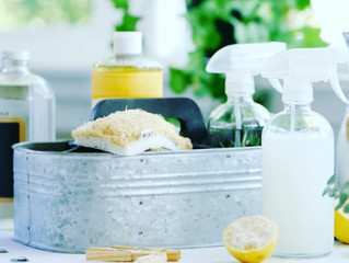 Organizing Tip of the Week - Homemade Cleaning Products