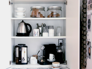 Organizing Tip of the Week - Coffee and Tea Station (area)