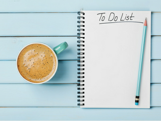 Organizing Tip of the Week - To Do Lists