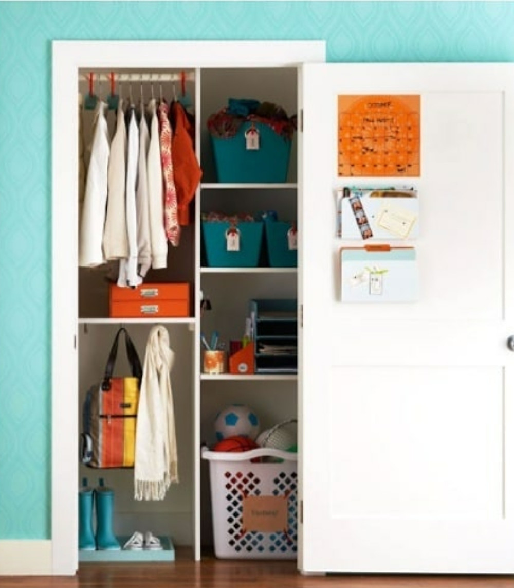 An organized entryway from Pinterest