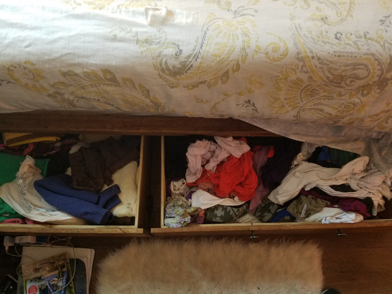 DRAWER: BEFORE