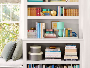 Organizing Tip of the Week - Bookshelves