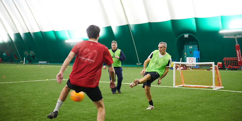 Fighting Fit Football Parkinson's training