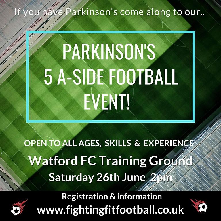 5 A-Side Parkinson's Football Event