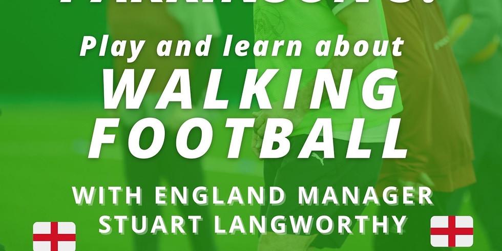 Walking Football Parkinson's Event