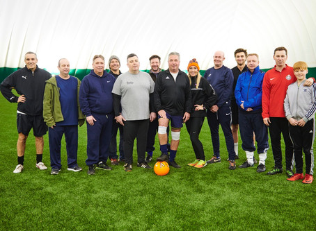 Fighting Fit Football are raising money to raise a cure and give Parkinson's the boot!