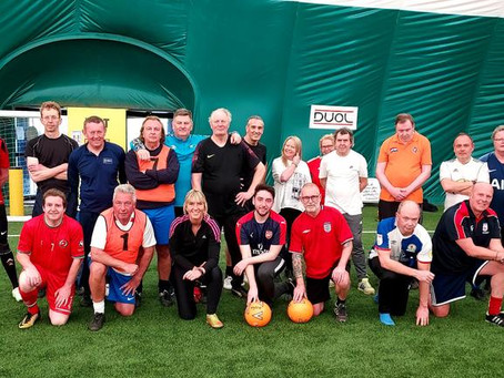 Game On! Walking Football with an England Manager!