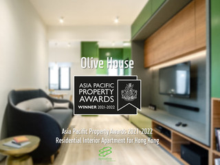 Winner of the Asia Pacific Property Awards - Olive House