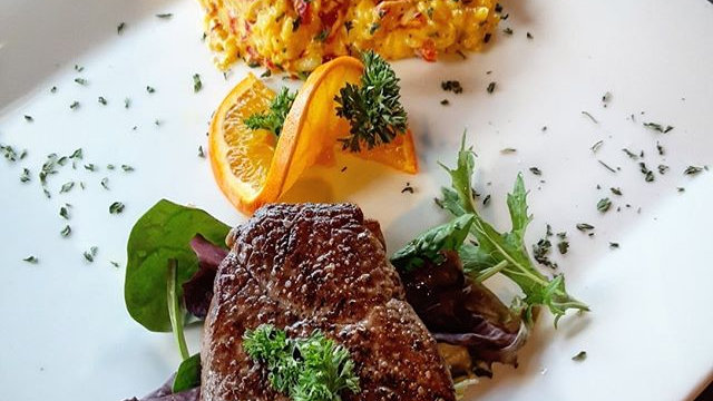 Fillet Mignon with Risotto