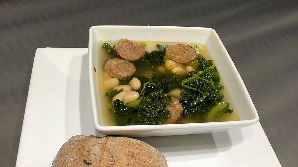 Kale, White Bean, and Italian Sausage