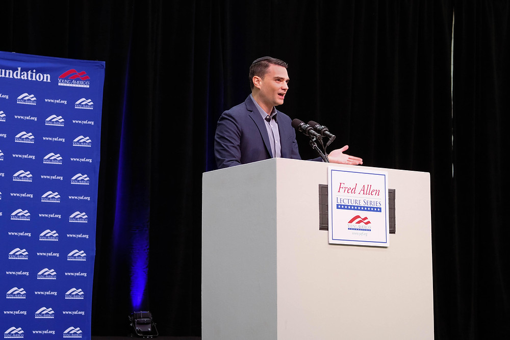Ben Shapiro speaking at BU this week