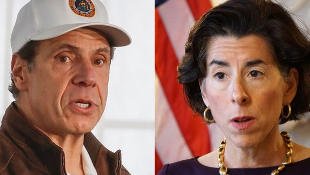 Rhode Island and New York Clash Over Governors' Orders