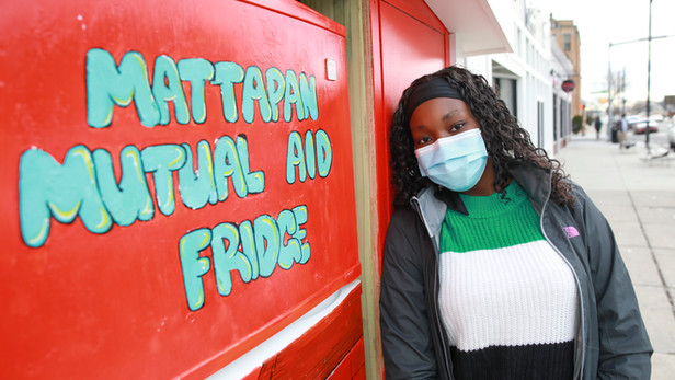 Mattapan Community Fridge Serves Local Residents In Need