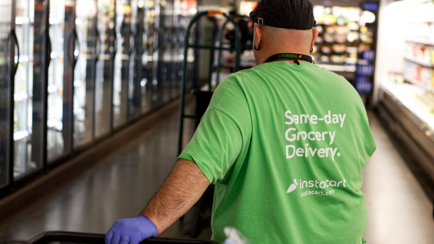 COVID and the Rise of Instacart