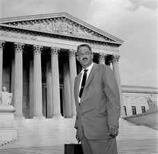 Thurgood Marshall, America's first African American Justice