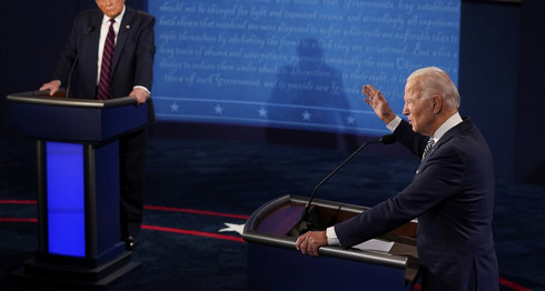 Candidates Spar at the First Debate on a Hotly Contested Night