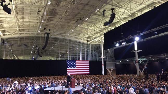 The Bernie Sanders Rally in Boston