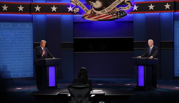 The Final US Presidential Debate: Improved Context, Iterated Contents